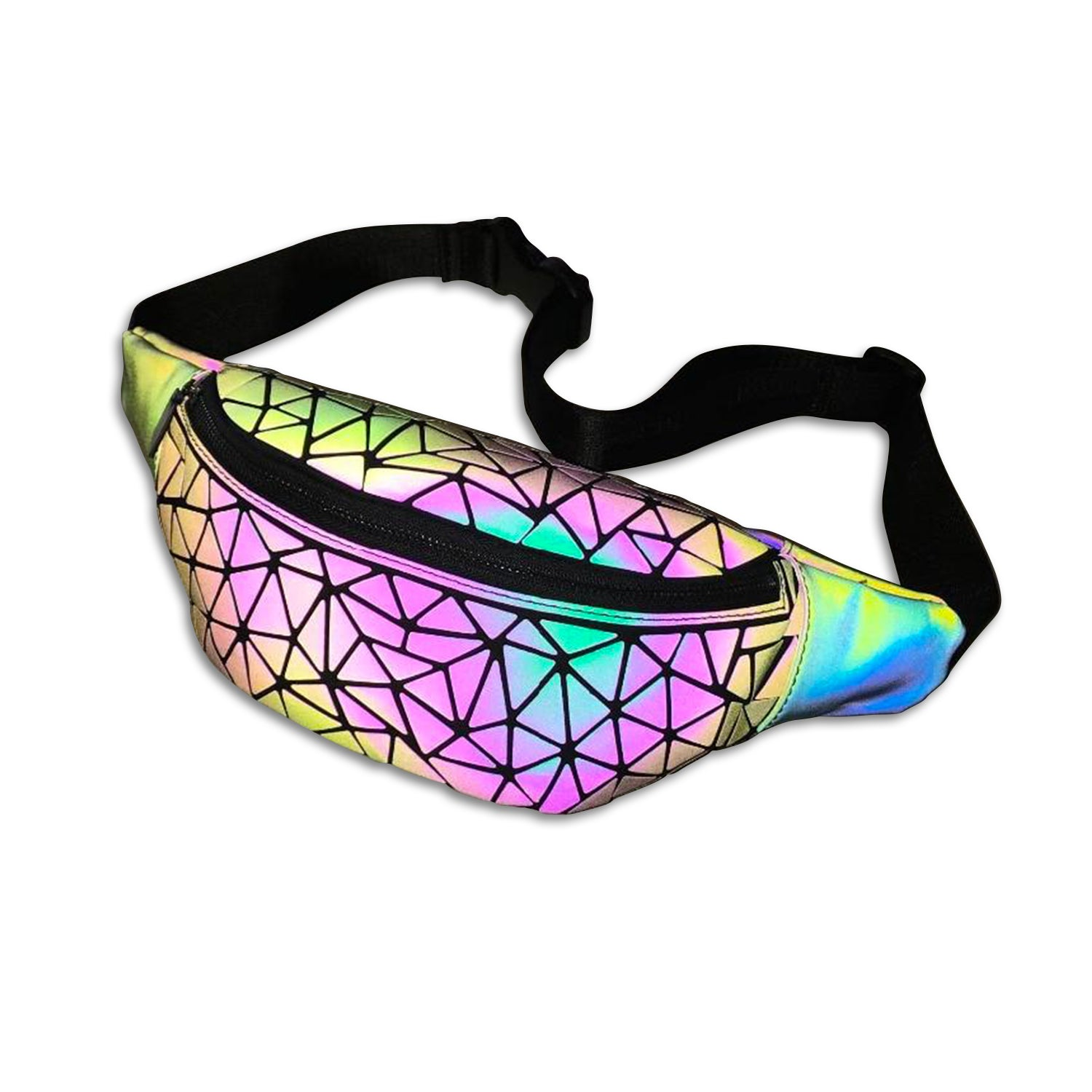 Glowcoco Holographic Waist Bag - glowcoco reflective clothing