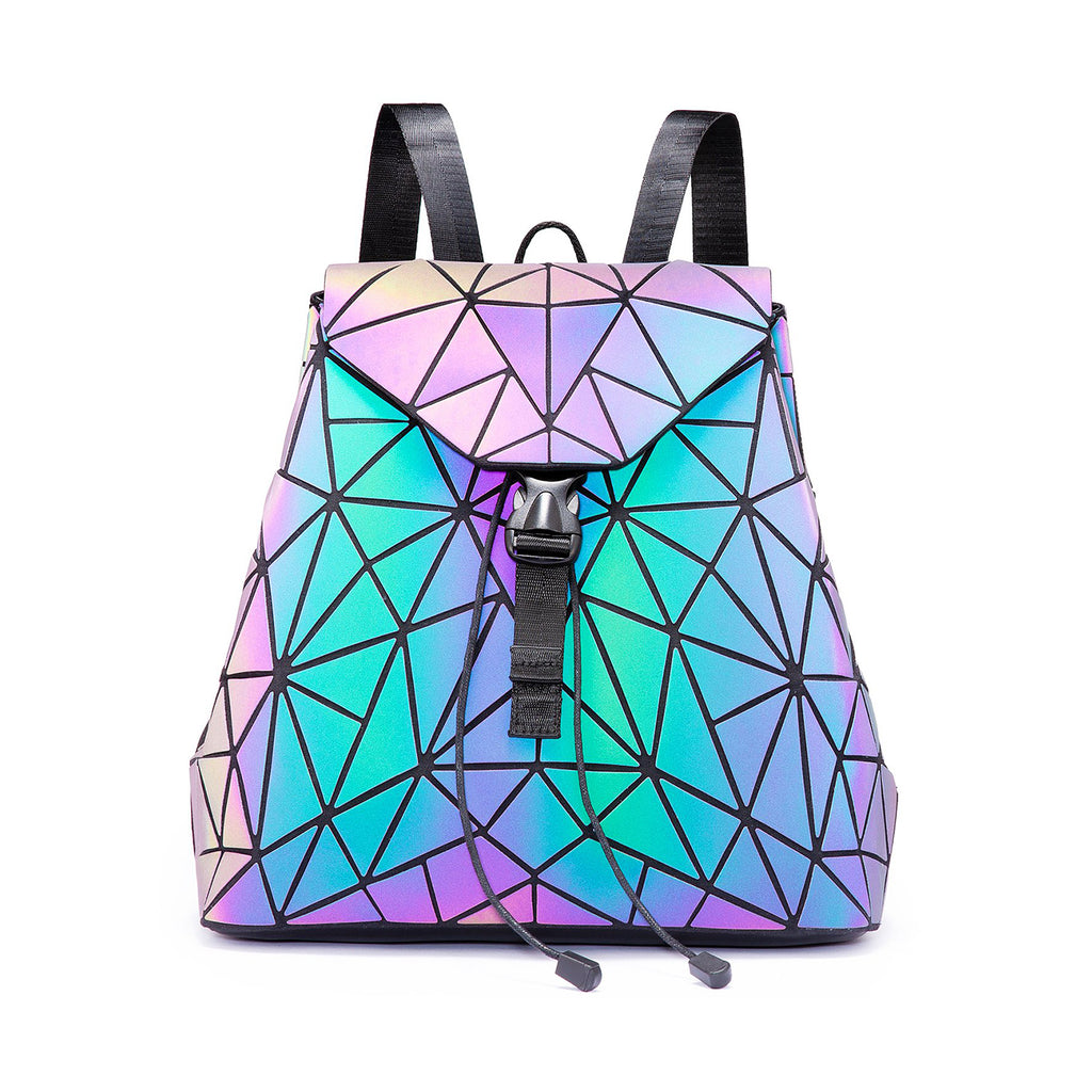 Glowcoco Reflective Drawstring Backpack - glowcoco reflective clothing