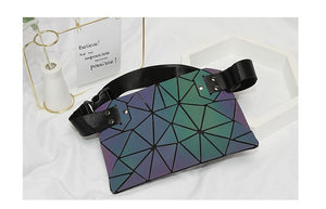 Glowcoco Holographic Fanny Pack Light - glowcoco reflective clothing