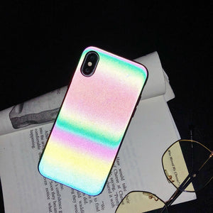Glowcoco iPhone Case - Rainbow Reflective - GLOWCOCO | Reflective Fashion