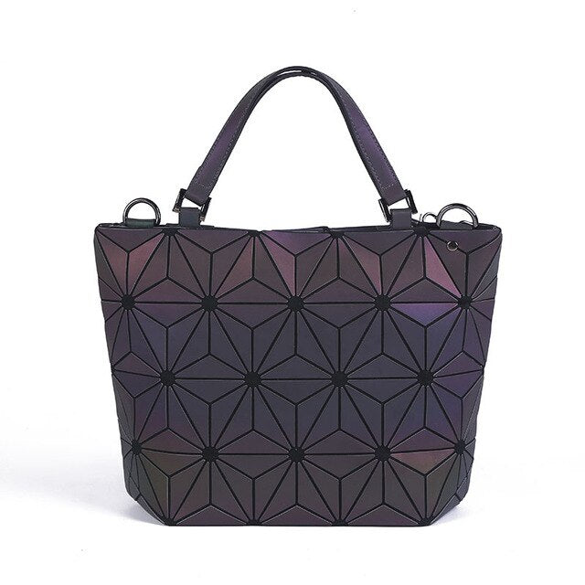 Glowcoco Holographic Queen Handbag - glowcoco reflective clothing