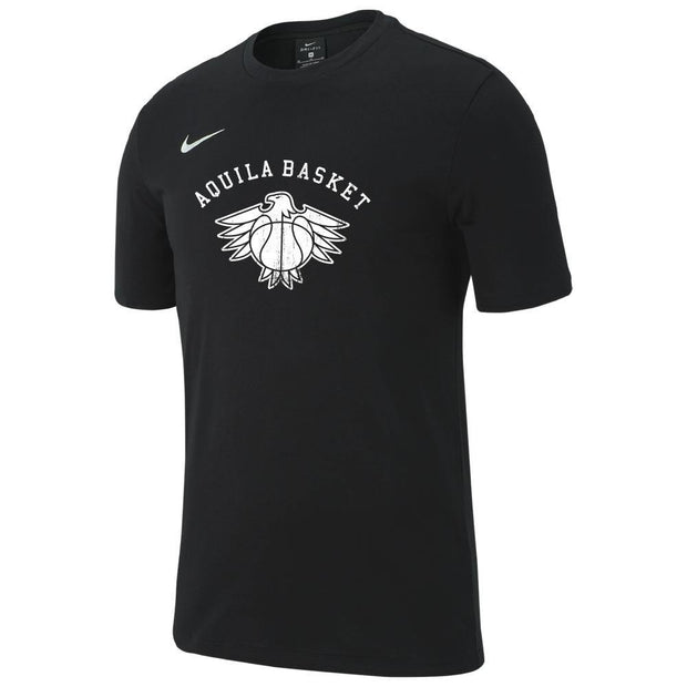 T-shirt stampa Aquila Basket Kids