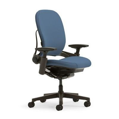 Steelcase Leap Plus Office Chair - Sky with Black Base