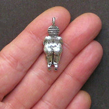 Load image into Gallery viewer, Great Selection 2 Fertility Goddess Charms Antique Silver Tone 3D with Great Detail - SC1408 Build Your Designs