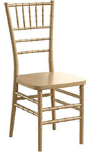Load image into Gallery viewer, Flash Furniture HERCULES PREMIUM Series Gold Resin Stacking Chiavari Chair