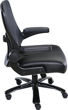 Load image into Gallery viewer, OneSpace Taft Mesh Back Oversized Executive Chair with Pocket Coil Seat Cushioning, Black