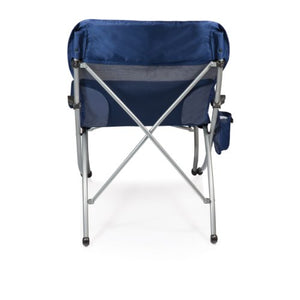ONIVA - a Picnic Time Brand PT-XL Over-Sized 400-Lb. Capacity Outdoor Folding Camp Chair, Navy