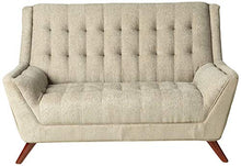 Load image into Gallery viewer, Coaster Home Furnishings Natalia Loveseat with Exposed Wood Legs Dove Grey