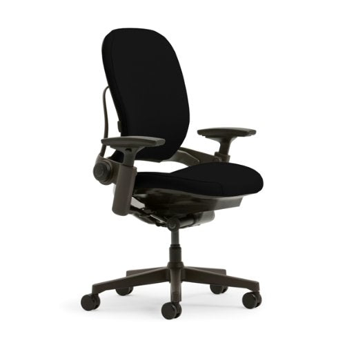 Steelcase Leap Plus Fabric Chair, Black