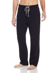 Hanes Men's Solid Knit Sleep Pant, Black, XX-Large