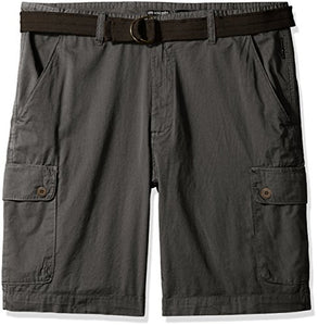 Ecko Unlimited Men's Big and Tall GMT Dyed Cargo Short, Asphalt, 56B