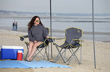 Load image into Gallery viewer, Quik Chair Heavy Duty Folding Camp Chair, Extra Large Folding Chair
