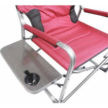 Load image into Gallery viewer, Ozark Trail 500 lb Capacity XXL Director Chair (red)