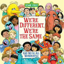 Load image into Gallery viewer, We're Different, We're the Same (Sesame Street) (Pictureback(R))