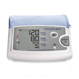 LifeSource Upper Arm Blood Pressure Monitor with Extra Large Cuff (UA-789AC)