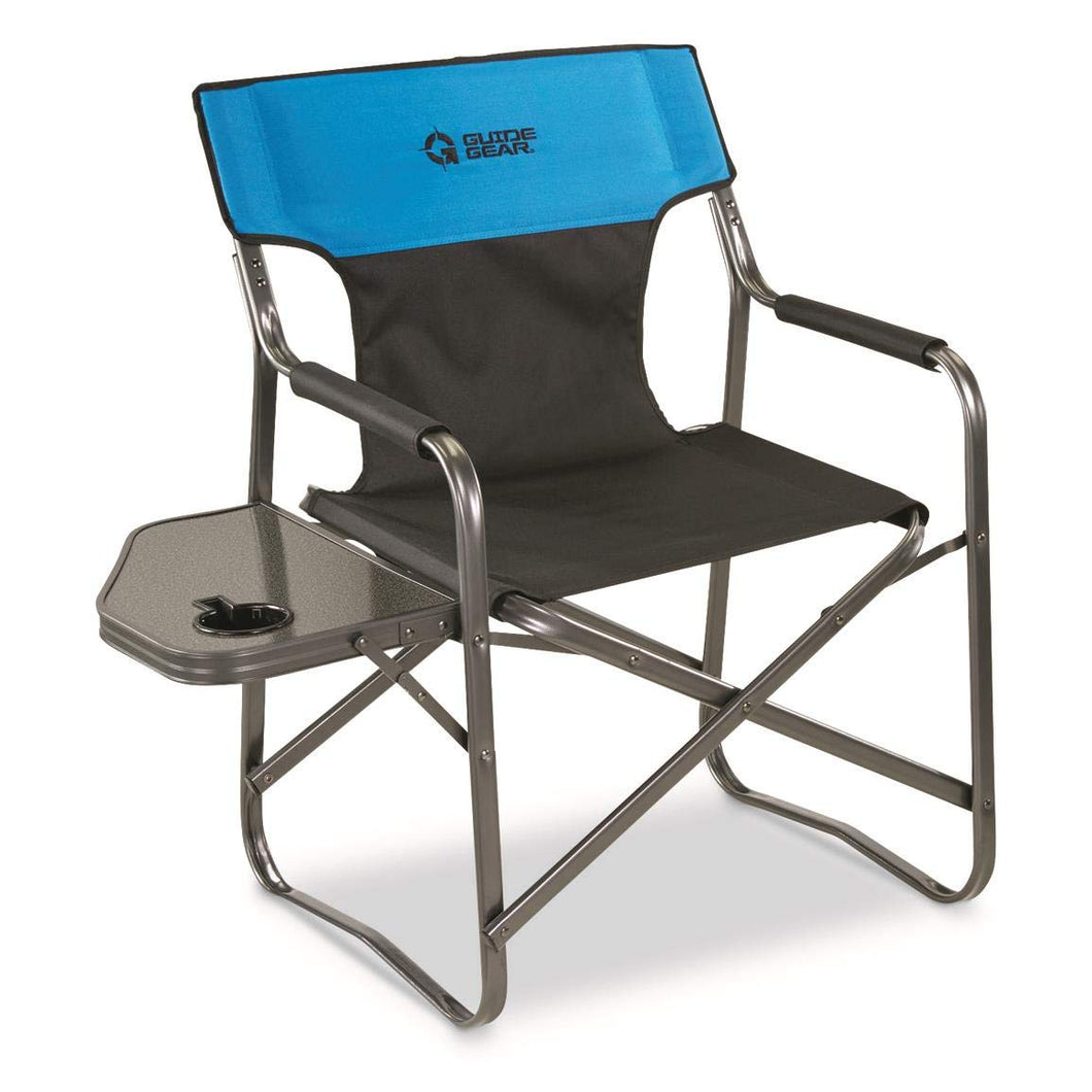 Guide Gear Oversized Directors Chair, 500 lb. Capacity, Blue