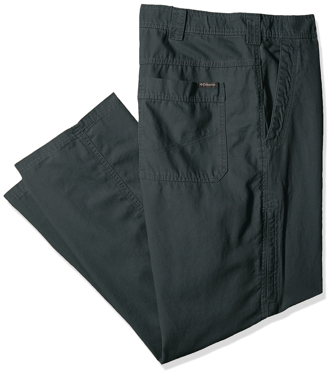 Columbia Men's Ultimate ROC Ii Big and Tall Pant, Deep Green, 54x30