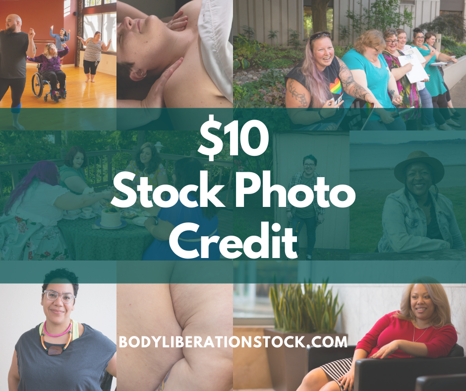 Body Liberation Stock Photos $10 Credit