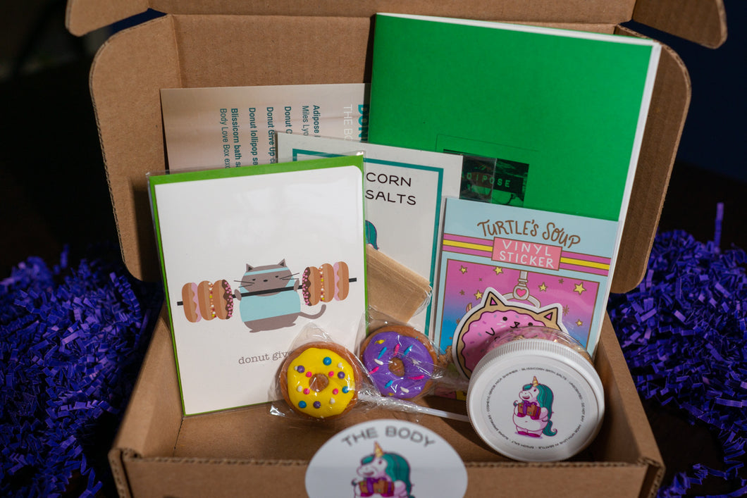 Body Love Box: Donut Mess with Me
