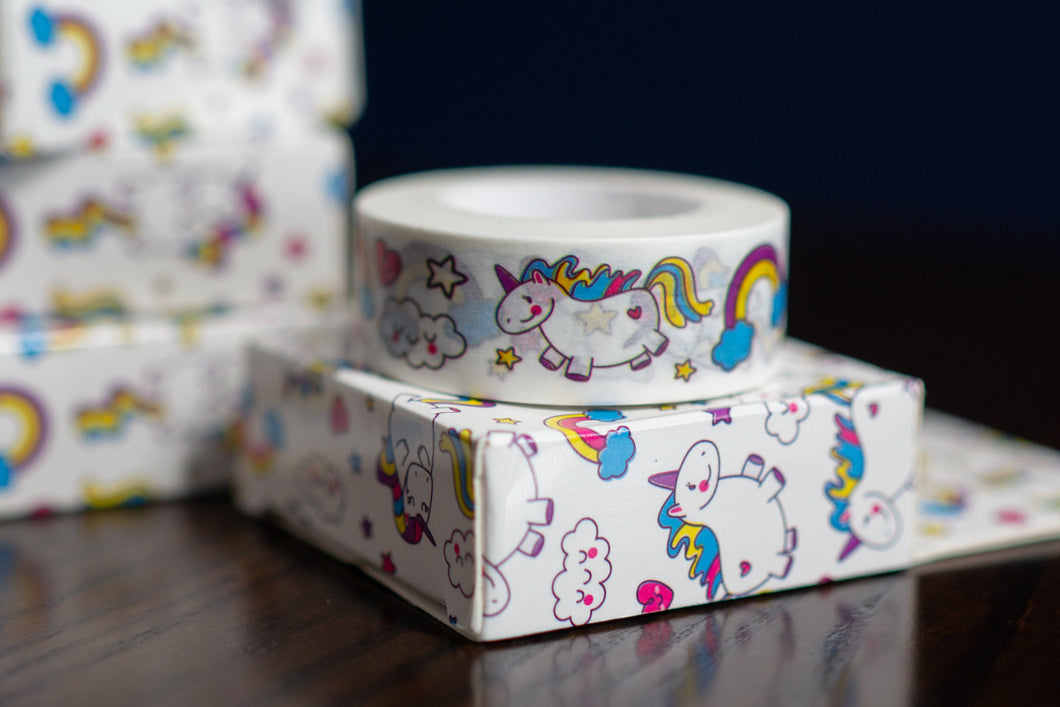 Fat Unicorn Washi Tape