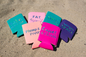 Plump & Pretty Drink Koozie