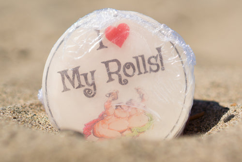 I Heart My Rolls Soap