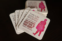 Load image into Gallery viewer, In This Body Drink Coasters, set of 4