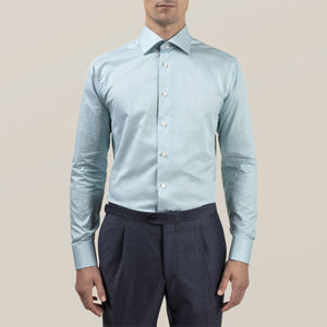 Eton- Teal Dress Shirt