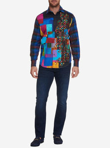 Robert Graham- THE GEOMETRIC- Limited Edition Shirt