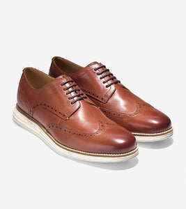 Cole Haan- ØriginalGrand Wingtip Oxford- Woodbury/ Ivory