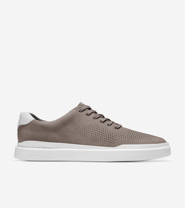 Cole Haan- Grand Pro Rally Laser Cut Sneaker- ironstone