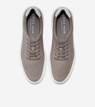 Load image into Gallery viewer, Cole Haan- Grand Pro Rally Laser Cut Sneaker- ironstone