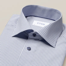 Load image into Gallery viewer, Eton- Navy Micro Printed Dress Shirt