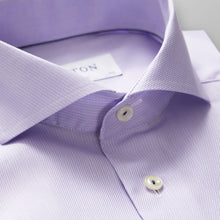 Load image into Gallery viewer, Eton- lavender cutaway collar dress shirt