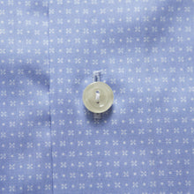 Load image into Gallery viewer, Eton- blue micro print shirt