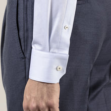Load image into Gallery viewer, Eton- Solid blue dress shirt