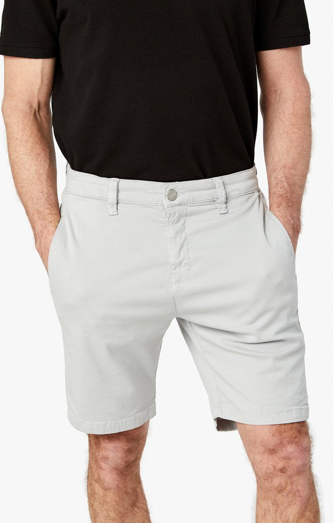 34 Heritage- NEVADA- STONE soft touch shorts