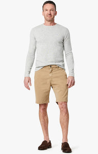 34 Heritage- NEVADA- KHAKI soft touch shorts