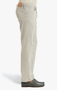 34 Heritage- Charisma Relaxed Straight Pants In Stone Soft Touch