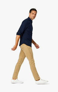 34 Heritage- Charisma Relaxed Straight Pants In Camel Comfort