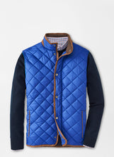 Load image into Gallery viewer, Peter Millar- Essex Quilted Travel Vest- York blue
