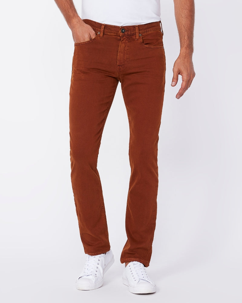 PAIGE- Twill Jeans- Teal- Federal
