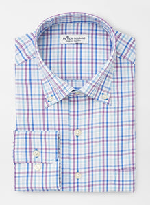 Howard- Performance Sport Shirt- Purple/ Blue