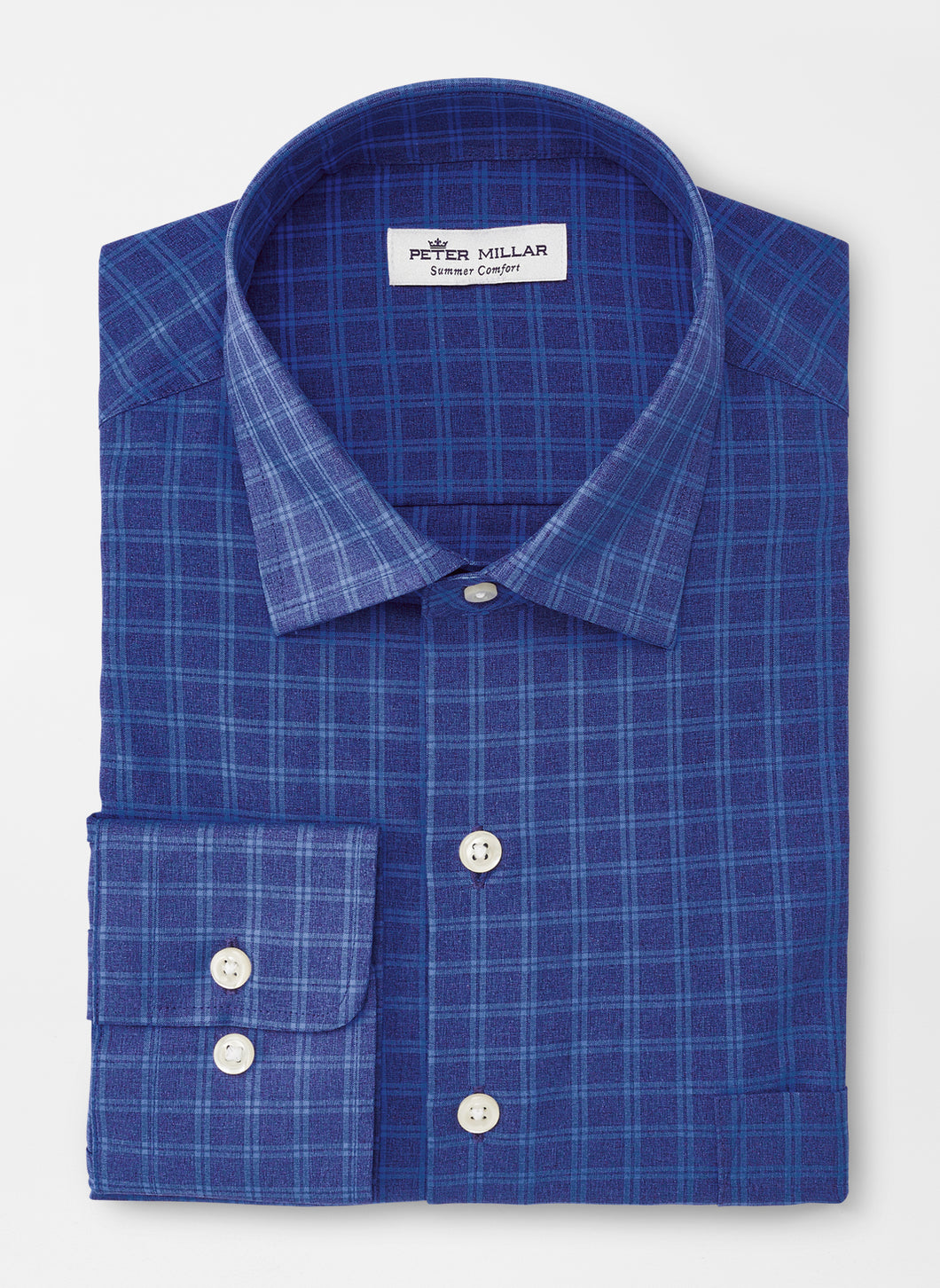 PETER MILLAR- Ford- Natural Touch Performance Shirt- Navy