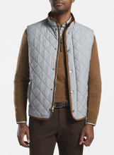 Load image into Gallery viewer, Peter Milllar- Essex Quilted Travel Vest- Gale Grey