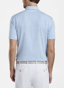 PETER MILLAR- Soul Performance Jersey Polo- Blue Bell