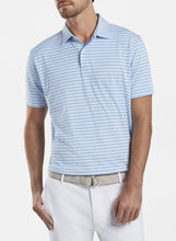 Load image into Gallery viewer, PETER MILLAR- Soul Performance Jersey Polo- Blue Bell