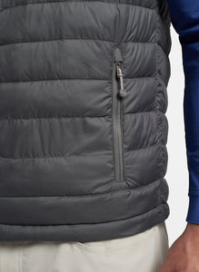 Hyperlight Quilted Vest- Iron