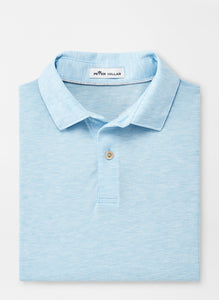 Peter Millar- performance polo- cottage blue