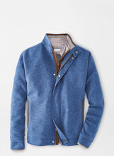 Load image into Gallery viewer, Peter Millar- Crown Flex-Fleece Bomber- Sailor Blue